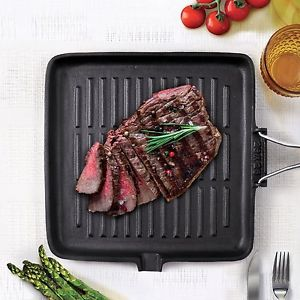 Grill en fonte induction manche pliable BIALETTI