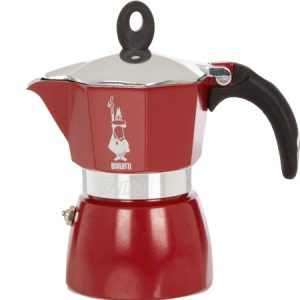 Cafetière 3 tasses rouge BIALETTI DAMA GLAMOUR