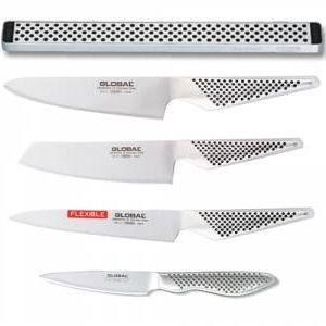 Couteaux global 120390 ( 4 pcs ) + Support MATFER