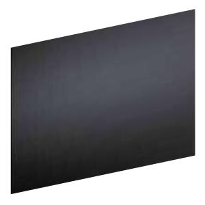 Crédence 489874 verre noir FRANKE